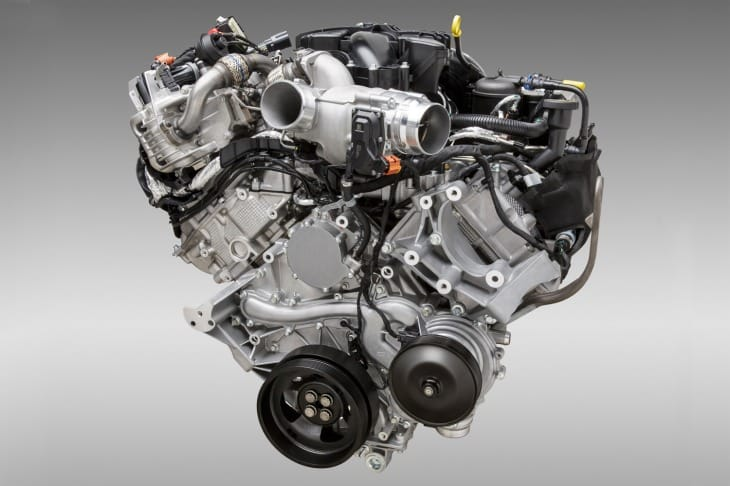 2016 Ford Bronco engine