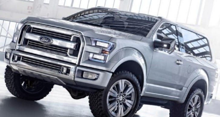 2016 Ford Bronco price and interior