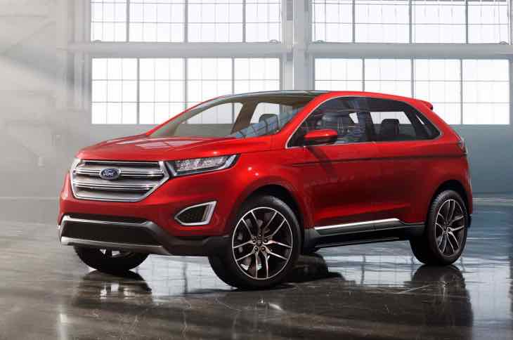 2016 Ford Edge price