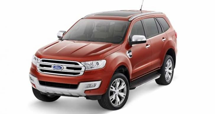 2016 Ford Endeavor variants with new specs for India