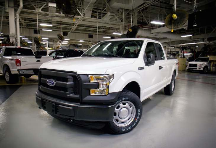 2016 Ford F-150 compressed natural gas