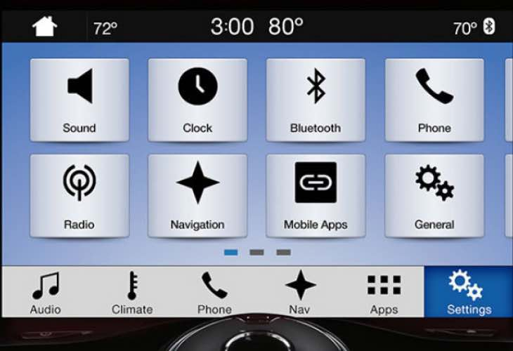 2016 Ford Sync 3 update to bring new features