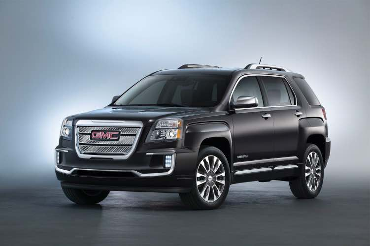 2016 GMC Terrain trim levels for refresh