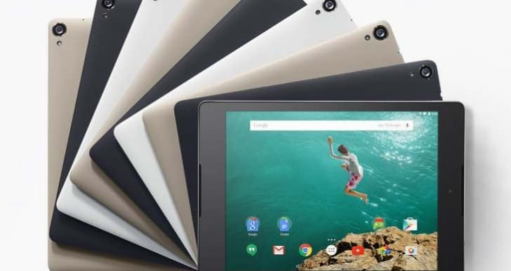 2016 HTC Nexus 9 update with 3D Touch prospect