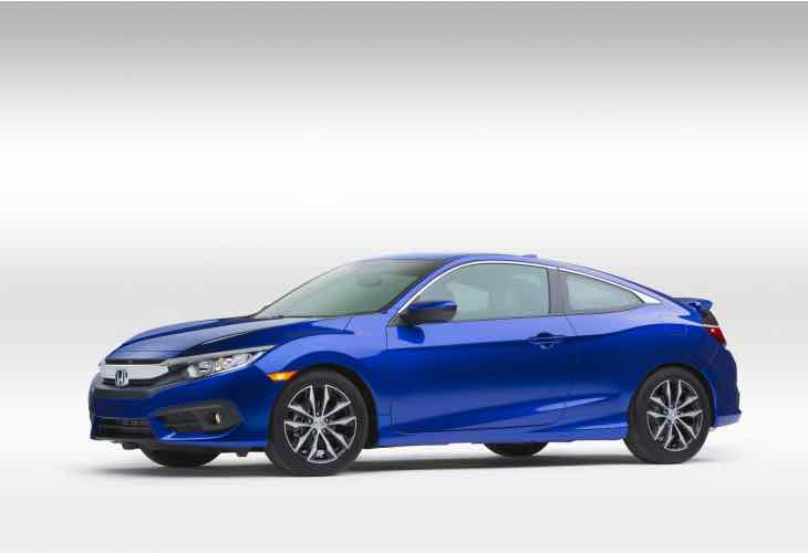 2016 Honda Civic Coupe release date