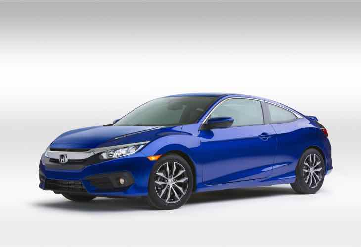 2016 Honda Civic Coupe specifics