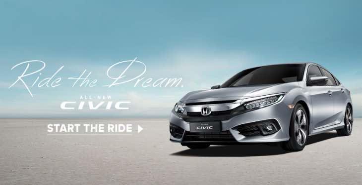 2016 Honda Civic FC Malaysia price