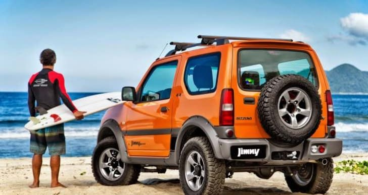 2016 Maruti Jimny price expectations in India
