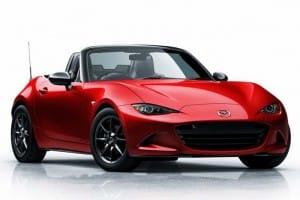 2016 Mazda MX-5 Miata price list