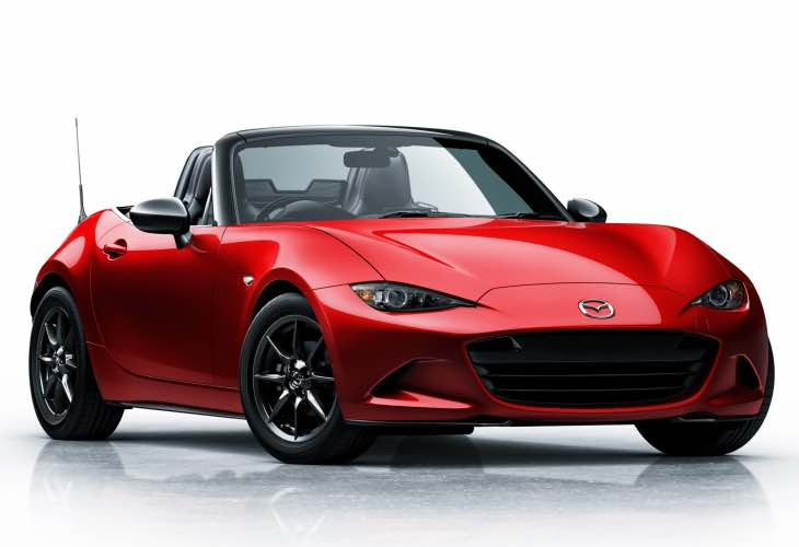 2016 Mazda MX-5 Miata price list