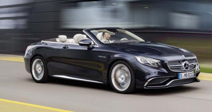 2016 Mercedes-AMG S65 Cabriolet UK price expectation