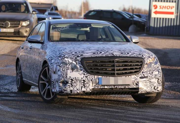 2016 Mercedes-Benz E-Class engines