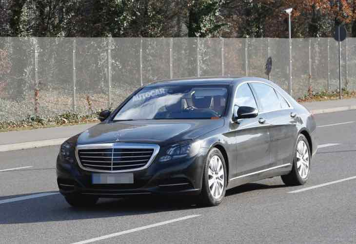 2016 Mercedes-Benz S-Class exterior changes revealed