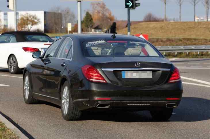 2016 Mercedes-Benz S-Class facelift