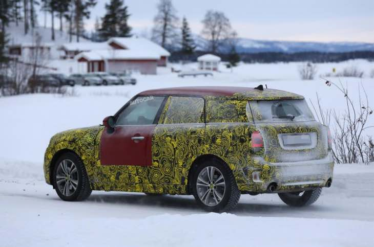 2016 Mini Countryman specs