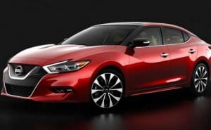 2016 Nissan Maxima design similarities, not full specs