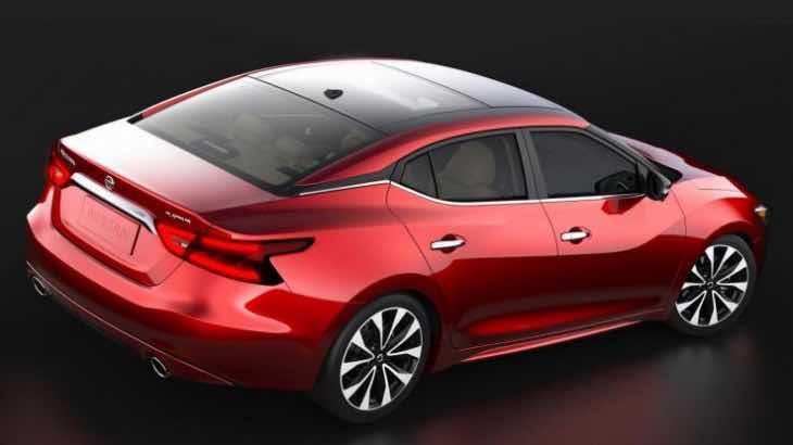 2016 Nissan Maxima design