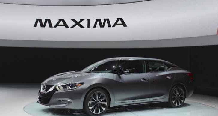 2016 Nissan Maxima review roundup highlights no options