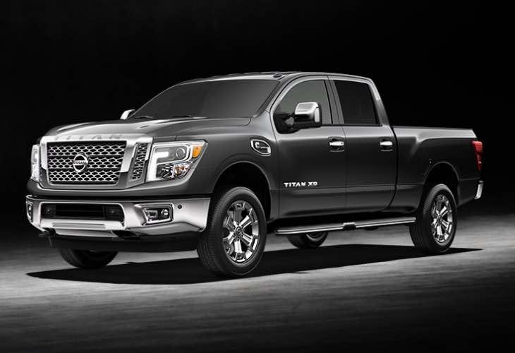 2016 Nissan Titan XD sales
