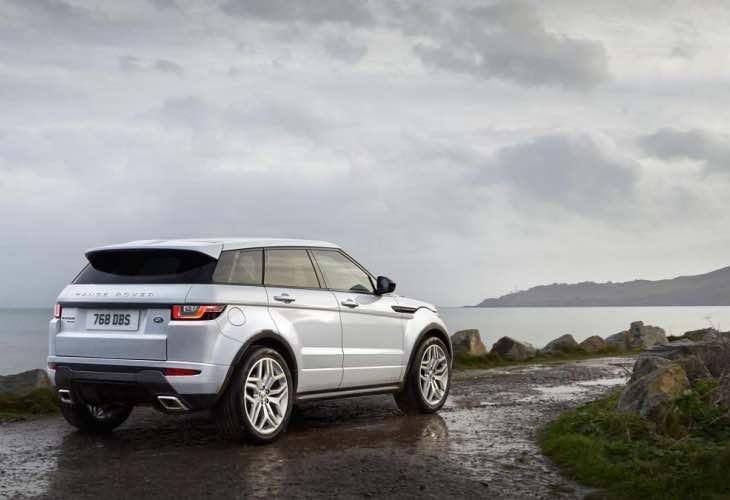 2016 Range Rover Evoque changes