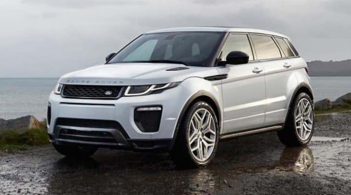 2016 Range Rover Evoque fuel-economy stats