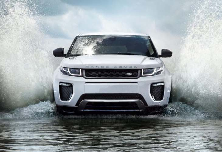 2016 Range Rover Evoque price list