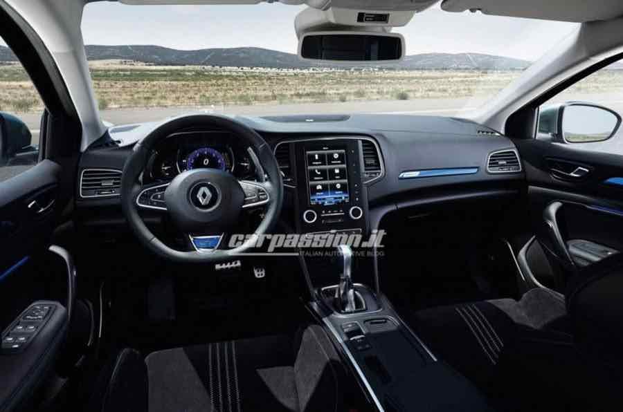 2016 Renault Megane interior design