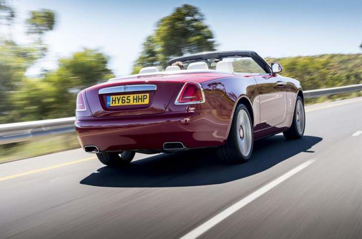 2016 Rolls-Royce Dawn sets new standard