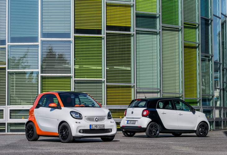 2016 Smart Fortwo and Forfour customization significance