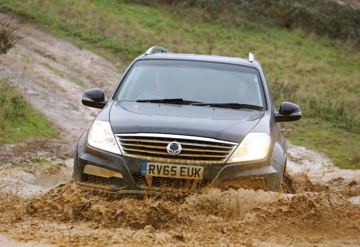2016 SsangYong Rexton UK price