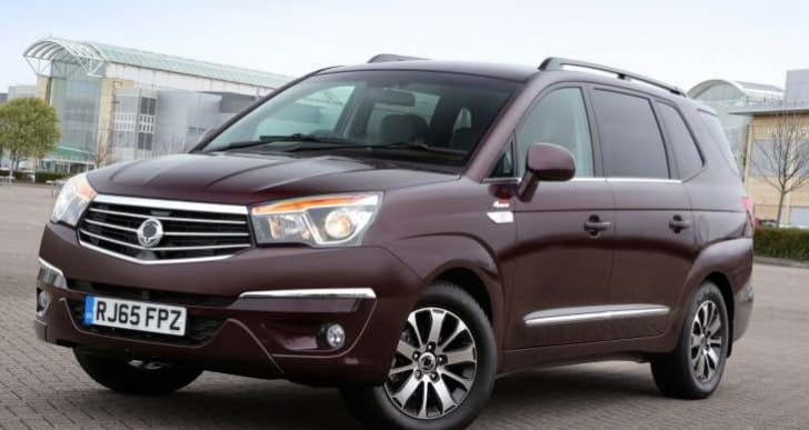 2016 SsangYong Truismo 2.2 now available in UK