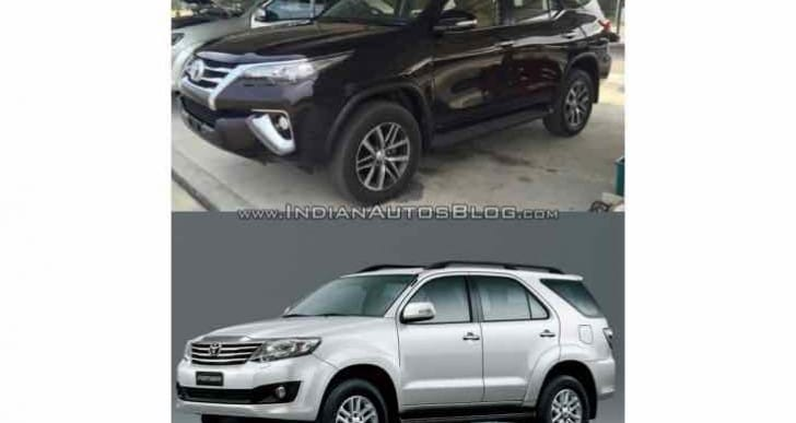 2016 Toyota Fortuner Vs old exterior and interior