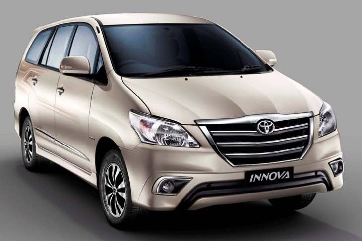 2016 Toyota Innova launch in India