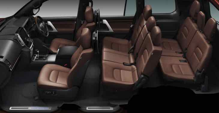 2016 Toyota Land Cruiser facelift interior