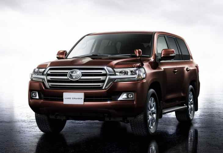 2016 Toyota Land Cruiser price