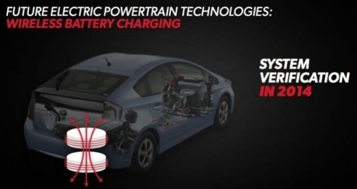 2016 Toyota Prius – Wireless charging or increased range