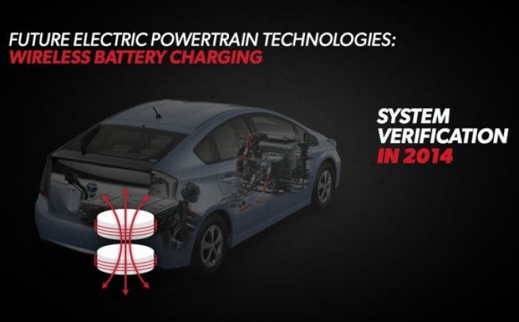 2016 Toyota Prius - Wireless charging or increased range