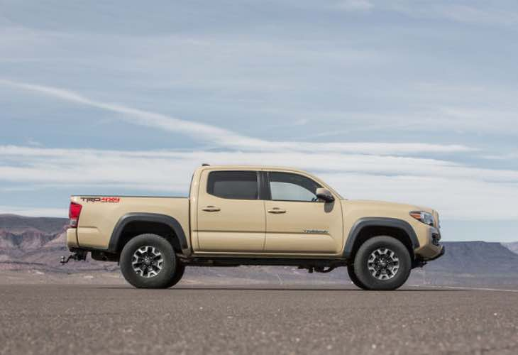 2016 Toyota Tacoma V6 review negativity