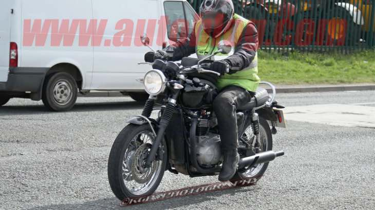 2016 Triumph Bonneville particulars scrutinized