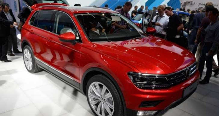 New VW Tiguan 2016 release details updated