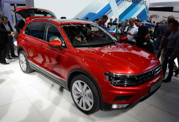 2016 VW Tiguan release details updated