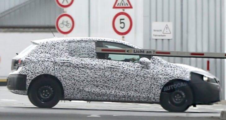 2016 Vauxhall Astra tease reveals exterior design