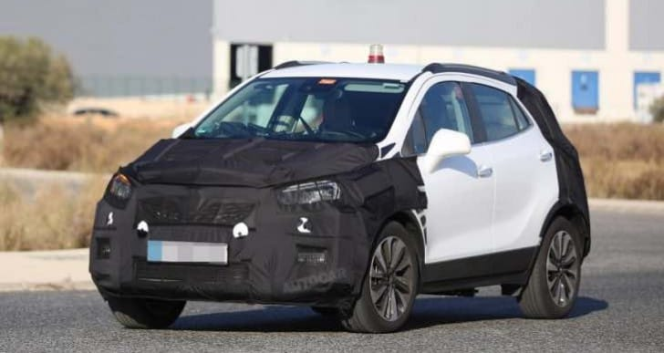 2016 Vauxhall Mokka exterior changes teased