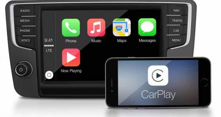 2016 Volkswagen availability for models with CarPlay support