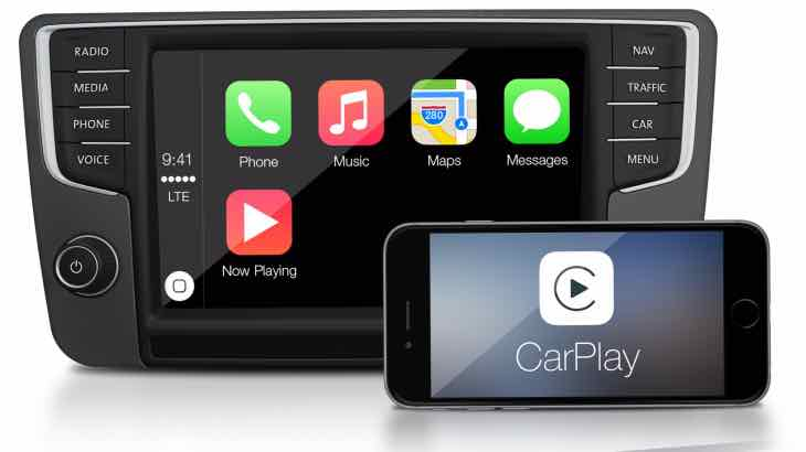 2016 Volkswagen CarPlay models