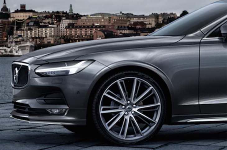2016 Volvo S90 exterior design