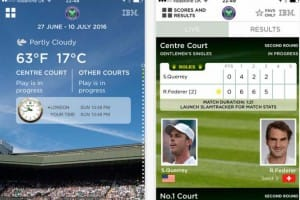 2016 Wimbledon order of play with live scores