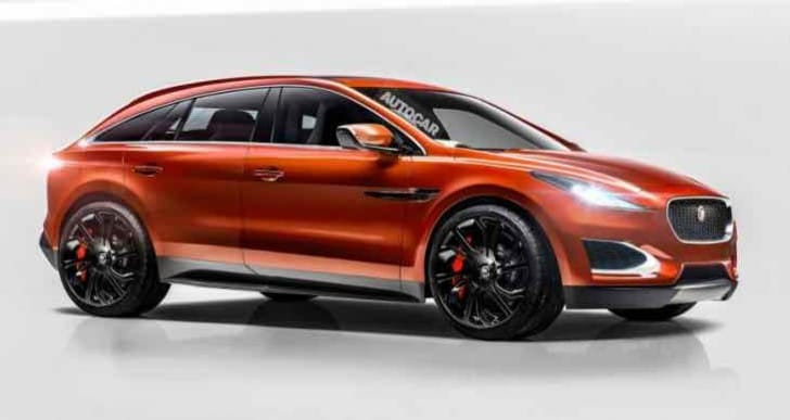 2016 all-electric Jaguar SUV reveal with C-X75 touches