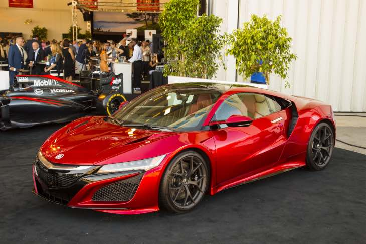 2017 Acura NSX driving impressions