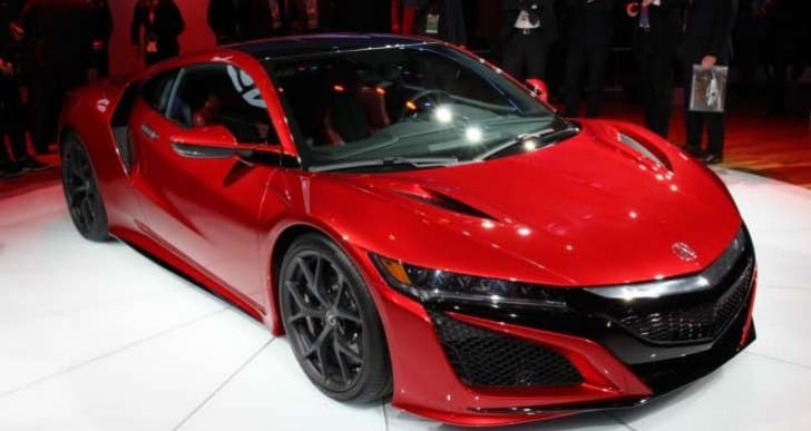 2017 Acura NSX review reveals driving impressions
